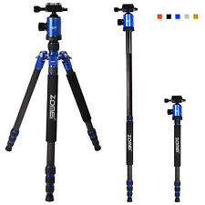 Zomei Top Carbon Fiber Tripod Travel Monopod&Ball Head for DSLR Camera