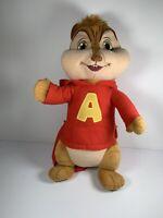 "Alvin And The Chipmunks Alvin Backpack 17"" Plush Stuffed Animal"