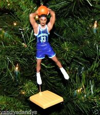 alonzo MOURNING charlotte HORNETS basketball NBA xmas ornament HOLIDAY jersey 33