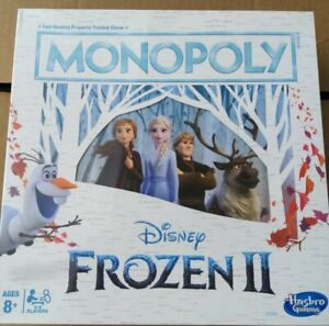 Monopoly Game: Disney Frozen 2 Edition Board Game for Ages 8 and Up, New