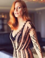 "~~ JESSICA CHASTAIN Authentic Hand-Signed ""BEAUTIFUL"" 8x10 Photo D~~"