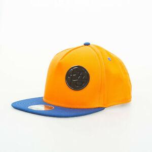 Dragon Ball Z - Goku Metal Badge Cap - Orange