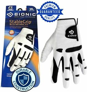 New 2021 Bionic USA StableGrip Men's Golf Glove w/ 2X DURABLE ***2-3 Day Ship***
