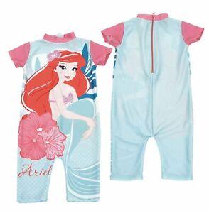 Girls Little Mermaid UV 50 Surfsuit