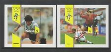 Nevis - 1990, World Cup Football sheets x 2 - MNH - SG MS563