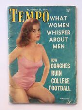 November 27 1956 Tempo News Magazine Pocket Size - Judy Foster