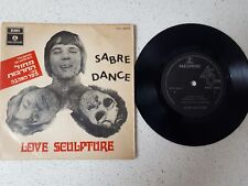 "VINYL EP 7"" 45 LOVE SCULPTURE    ---SABRA DANCE+2   ***VERY RARE-ISRAEL***"