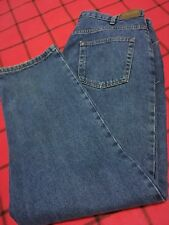 KIRKLAND SIGNATURE MENS W 42 X 32 L NAVY QUALITY COMFORT RELAXED NICE JEAN PANTS