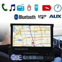 """7 """" 1 Din Autoradio con Navigazione GPS Touchscreen Bluetooth Mp5 USB / Tf / Aux"""