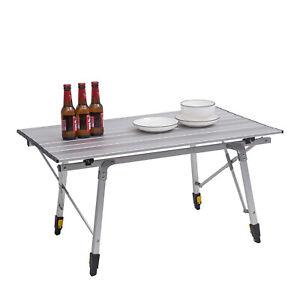 Alu Campingtisch Wohnwagen Klapptisch Falttisch Garten Tisch höhenverstellbar
