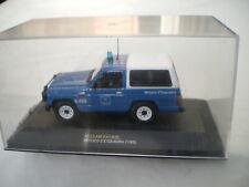 Nissan Patrol 160 ph.2 1988 1987-2003 Policia Barcelona 1/43 Ixo Altaya Neuf Box