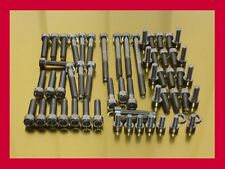 Kawasaki ZRX 1100 / ZRX1100 Stainless Steel Bolt-Kit Screws Engine Motor Cover