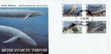 Britische Gebiete Antarktis FDC 2003 Blauwal