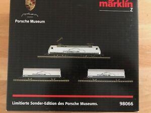 Märklin Z - 98066 - Limited Edition Special RTR Set for The Porsche Museum LNB