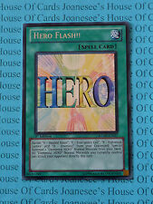 Hero Flash!! RYMP-EN027 Secret Rare Yu-Gi-Oh Card 1st Edition New