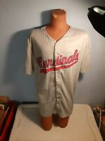 St. Louis Cardinals SGA Stadium Giveaway Gray Jersey Adult Size XL