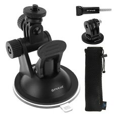 PULUZ Car Mount Holder Suction Cup Sucker Kit For GoPro HERO 7/6/5/4/3 /3/2/1