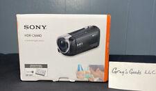 Sony Handycam HDR-CX440 8GB Wi-Fi 1080p HD Video Camera Camcorder Fast Ship!!