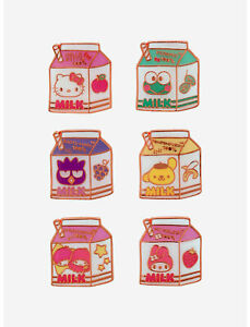 Loungefly Hello Kitty And Friends Milk Carton Blind Box Enamel Pin SEALED NEW