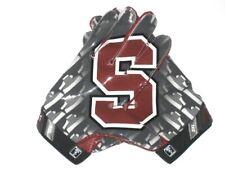 Devon Cajuste Game Used Signed Stanford Cardinal Team Logo Nike Vapor Jet Gloves