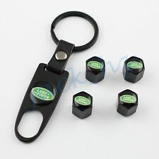 Auto Tire Valve Wheel Tyre Caps Key Chain Styling For RANGE ROVER Accessories