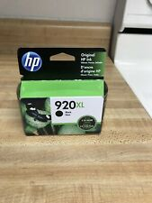 NEW Sealed HP 920XL Black  Ink Cartridge GENUINE Exp 11/2021