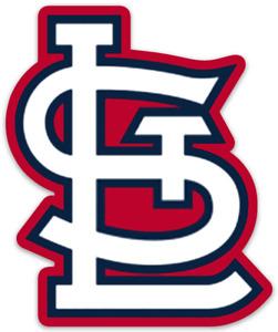 Saint Louis Cardinals Classic StL Logo Type MLB Baseball Die-Cut MAGNET