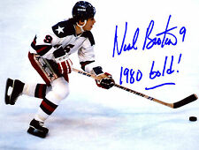 Neal Broten USA 1980 Gold Medal Olympian Signed 8x10 Photo W/COA