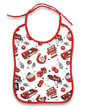 Six Bunnies Baby Bib - Cherry Garage
