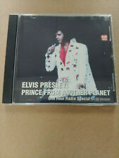 "RARE! Elvis Presley ""Prince From Another Planet"" 1-hr radio special cd"