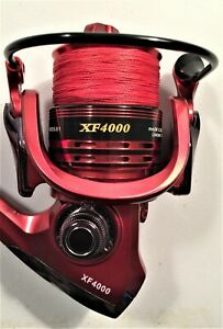 Two Shimano Stimula 6½' Rod & XF4000 (13+1 bb) Reel (Red Braid) Combos*