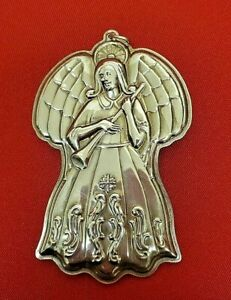 1993  Towle Sterling Silver Angel Ornament    11825