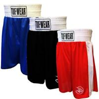 Tuf Wear Club Boxing Shorts Adult Kids Training Shorts Mens Womens Gym Shorts