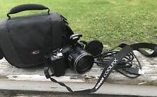 Nikon Coolpix Black L100 10 Mp Digital Camera 15x Optical Zoom Usb Cord Strap