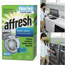 Washing Machine Cleaner Front and Top Load Washer Laundry 6 -Tablets 8.4 oz
