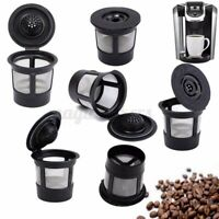 3/6Pcs K-Cup Reusable Replacement Coffee Filter Refillable Holder Pod for Keurig