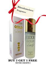 Milton Lloyd Pure Gold Lady 50ml Parfum de Toilette spray Buy 2 get one free