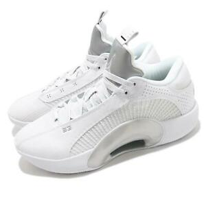 Nike Air Jordan XXXV Low PF 35 White Silver Men Basketball Shoes CW2459-100