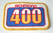 Vintage Richmond 400 Motor Speedway NASCAR Patch New Blems NOS 1980s