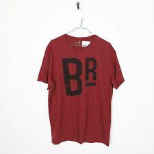 Vintage BANANA REPUBLIC Big Logo T Shirt Tee Red Large L