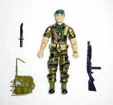 GI JOE FALCON Vintage Action Figure Green Beret COMPLETE 3 3/4 C9+ v1 1987