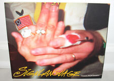 SIGNED Viggo Mortensen Signlanguage Sign Language Photograph Painting PB