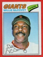 1977 Topps #547 Willie McCovey VG-VGEX+ San Francisco Giants FREE SHIPPING