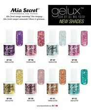 Mia Secret Gelux Glitter  Nail Polish 0.5 Oz UV GEL-SOAK OFF GEL POLISH - 2020