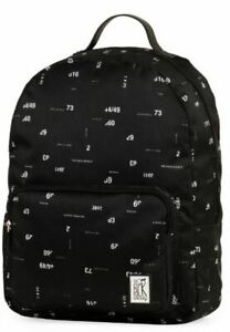 The Pack Society, Rucksack, B31 x H42 x T14 cm, black numbers allover