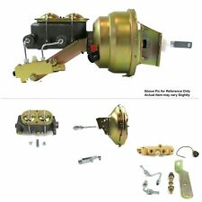 "1964-72 Chevy Chevelle FW Mount Power 11"" Single Brake Booster Kit LS Disc/Drum"