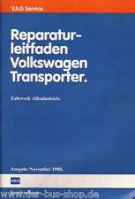 VW Bus T3 - Reparaturleitfaden - Syncro Fahrwerk