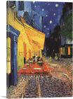 ARTCANVAS Cafe Terrace at Night 1888 Canvas Art Print by Vincent Van Gogh