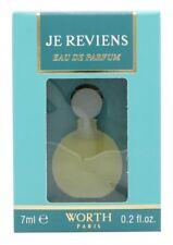 WORTH JE REVIENS EAU DE PARFUM BOULE 7ML MINI - WOMEN'S FOR HER. NEW