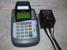 VeriFone Omni 3200 se Credit Card Reader / Printer With Power supply